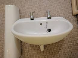 Bathroom Uk Bathroom Sink Ideal Standard With Stand White Good Condition
