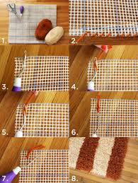 Diy Rug Diy Small Accent Rug Super Easy No Sew Love It I Would Do It