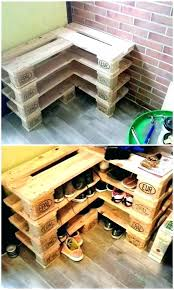 lazy shoe rack plans easy storage projects you can build on a budget wood pallet diy