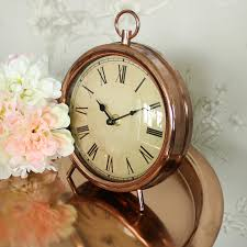 vintage style clock. Interesting Style Vintage Copper Style Mantel Clock In