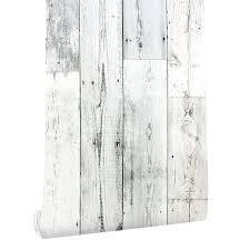 6m vinyl rustic wood wallpaper l and