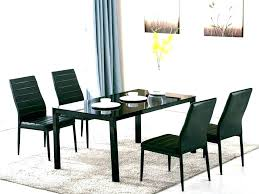 round wood dining table. Black And Wood Dining Set Table Round