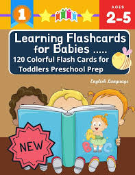 Preschool reading flash cards worksheets include holiday themes, sight words, weather lessons, and plenty more. Learning Flashcards For Babies 120 Colorful Flash Cards For Toddlers Preschool Prep English Language Basic Words Cards Abc Letters Number Animals