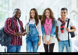Teens Collage Stock Photo 14771015 Teens In College