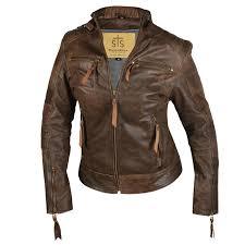 sts harlie jacket brown