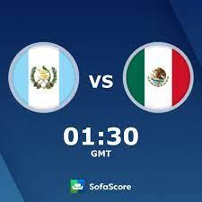 Guatemala - Mexico Live ticker, H2H und ...