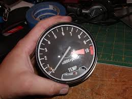 how to open a honda cb cx gl style tachometer and speedometer steps