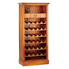 Rustic wine cabinet furniture