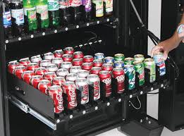 Soda Bottle Vending Machine Extraordinary Soda Cans And Bottles Anatomy Of A Breakroom Pinterest