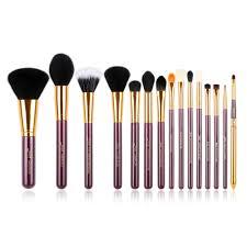 dels about uk jessup best make up brushes set 15pcs powder blush concealer eyeshadow lip