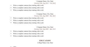 Resume Free Printable Resume Free Resume Printable Template