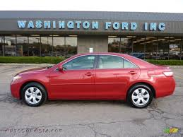 2007 Toyota Camry LE in Barcelona Red Metallic - 066857 | Autos of ...