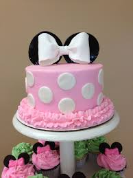 Minnie Mouse Baby Shower Decorations Minnie Mouse Cake Made For My Cousins Baby Shower Alexis
