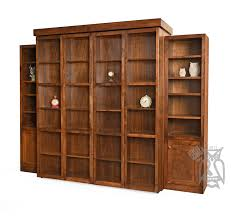 bookcase wall bed. Perfect Bookcase Custom Built San Marino Library Wall Bed With Bookshelf Storage  Watch  Demo Video Choose  On Bookcase B