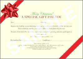 Christmas Certificates Templates For Word Best Printable Massage Gift Certificate Template Free Holiday