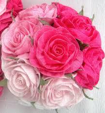 Crepe Paper Flower Balls Pink Paper Flower Balls Magdalene Project Org