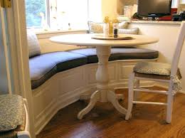 bench storage benches for kitchen table curved seating round dining with back corner co