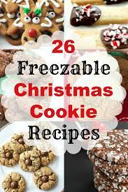 These cookies taste great with green tea, so you can enjoy green tea benefits as well as their fantastic taste. 26 Freezable Christmas Cookie Recipes Make Ahead Christmas Cookies