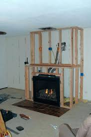 build fireplace mantels gas fireplace surround insert inside build a idea 2 how to build a build fireplace mantels