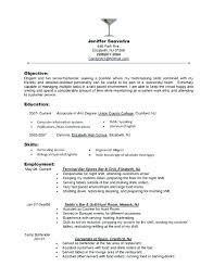 Sample Server Resume Restaurant Resume Objective This Is Waitress