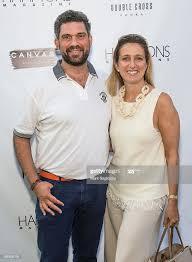Avi Shapira and Adrianne Shapira attend the Hamptons Magazine... News Photo  - Getty Images