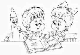 I Disegni Da Colorare Per Il Primo Giorno Della Scuola Dellinfanzia