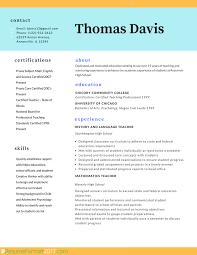 Top 10 Resume Templates 2017