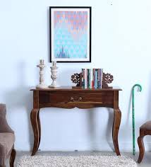 wood console table. anne solid wood console table in provincial teak finish by amberville