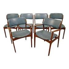 dining chairs ebay elegant set of 6 mid century danish modern erik buch for o d mobler