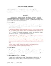 Business Investment Agreements Business Investment Contract Birthday Invitation Cards Templates 8
