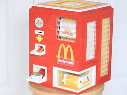 Mcdonalds Vending Machine Japan Delectable Kid Builds Lego Chicken McNugget Machine Business Insider