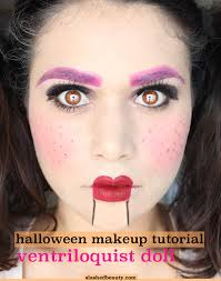 ventriloquist doll makeup tutorial