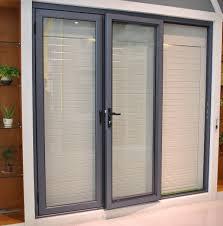 marvelous aluminium sliding doors for your patio door design idea modern grey aluminium frame clear