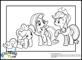 Small Picture Coloring Pages Mlp Printable Coloring Pages My Little Pony Pinkie