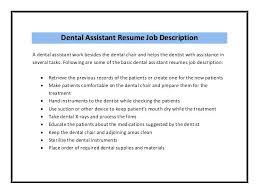 Dental Assistant Resume Sample Fascinating Dental Assistant Resume Sample Cover Letter 60