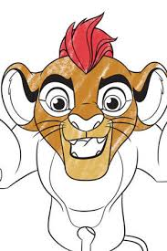 Small Picture Lion Guard Kion Colouring page Disney Junior UK