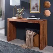 Design Konsolentisch Finebuy Konsolentisch Massivholz Konsole Schreibtisch 115 X 40 Cm Landhaus Neu