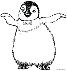 Free Printable Emperor Penguin Coloring Pages Cute Baby Penguins