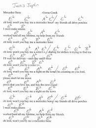 Mercedez Benz Guitar Chord Chart In Eb Guitar Chord