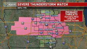Severe Thunderstorm Watch expired ...