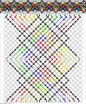 Создание схемы плетения фенечки