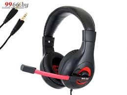 <b>Наушники Gembird MHS-G30 Black-Red</b>