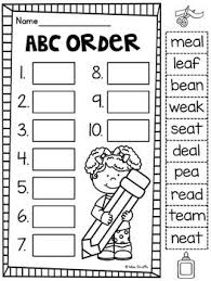 Phonics cut and paste worksheets for kindergarden to practice alphabets and sounds. Ee Ea Worksheets Activities No Prep Vowel Teams Worksheets Vowel Teams Worksheets Writing Practice Kindergarten Phonics Sounds