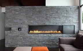thin bricks for fireplace a stacked stone fireplace in a modern living room environment with a thin bricks for fireplace