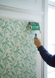 You Won't Believe It's Not Wallpaper | Floral, Patterns and Wall paintings