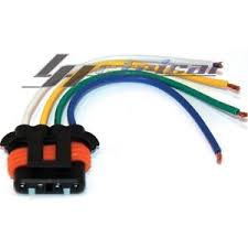 new repair plug harness pigtail connector 4 wire chevy gmc image is loading new repair plug harness pigtail connector 4 wire