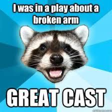 Broken Arm Joke   Kappit via Relatably.com