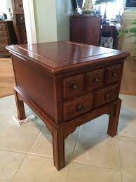 ducks unlimited cherry end table for