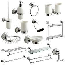 Bathroom Accessory Set Chrome
