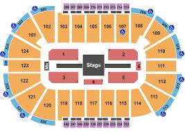 Santander Arena Seating